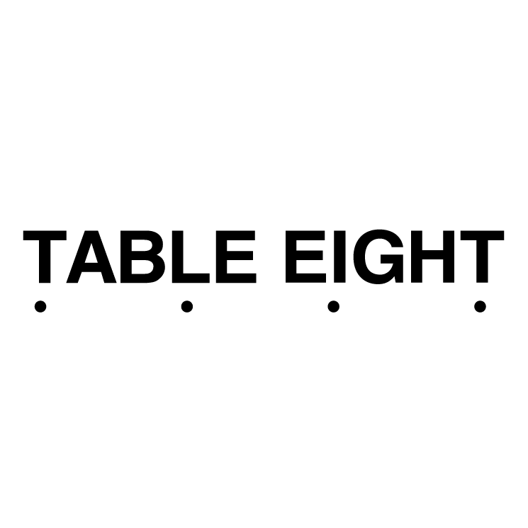 free vector Table eight