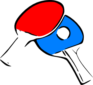 free vector Table Tennis clip art