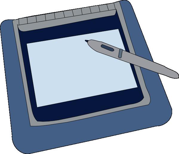 free vector Tablet clip art
