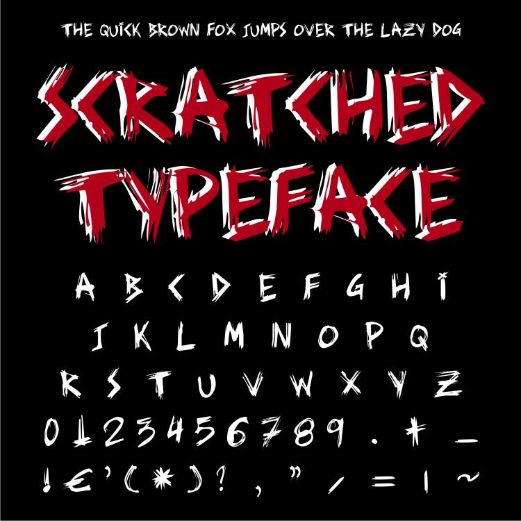 free vector Tablet letters vector