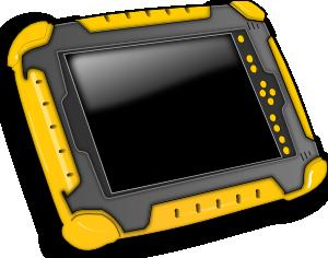 free vector Tablet Pc clip art