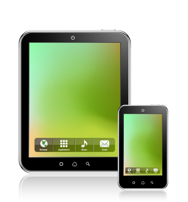 free vector Tablet PC Vector