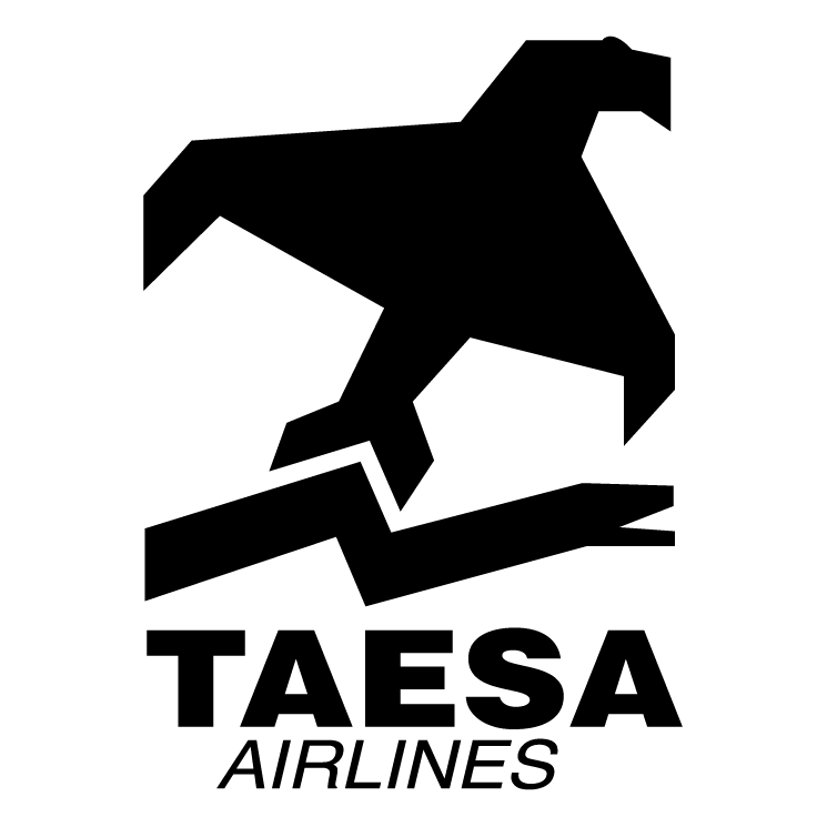 free vector Taesa airlines
