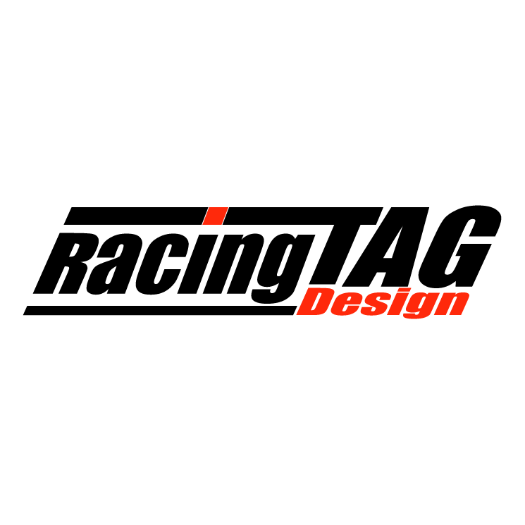 Tag Design Racing Free Vector 4vector