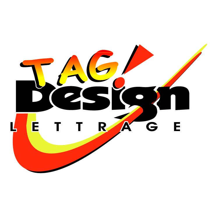free vector Tag design