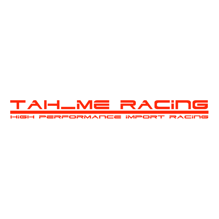 free vector Tahme racing