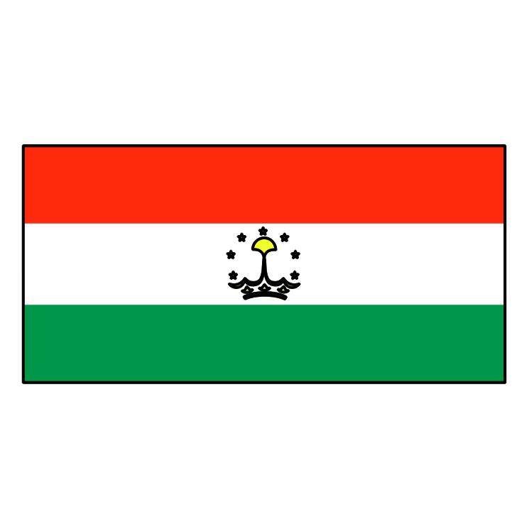 free vector Tajikistan