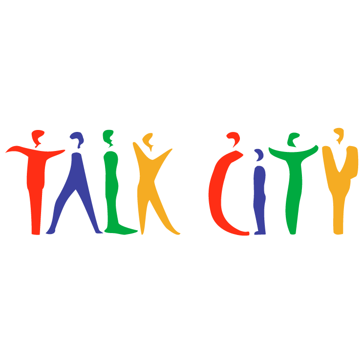 free vector Talk city