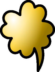 free vector Talking Cloud Icon clip art