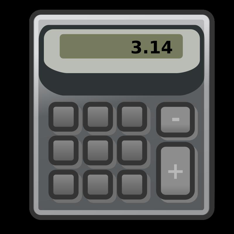 free vector Tango accessories calculator