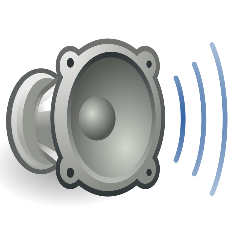 free vector Tango audio volume high