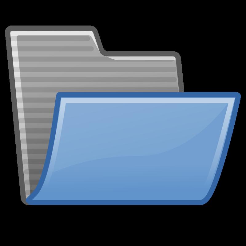 free vector Tango folder open