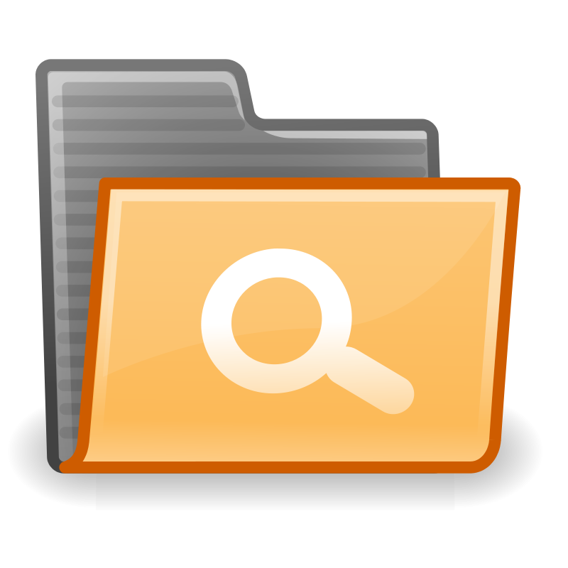 free vector Tango folder saved search