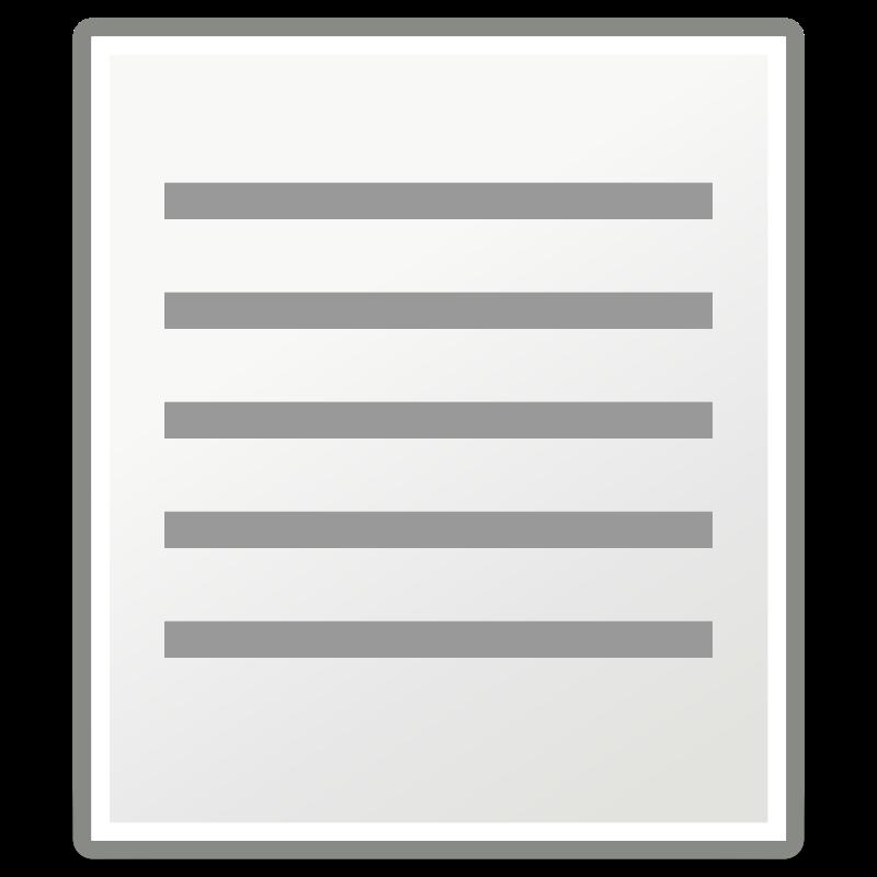 free vector Tango format justify fill