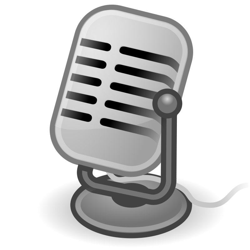 free vector Tango input microphone