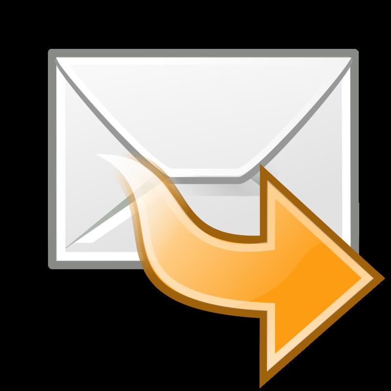 free vector Tango mail forward