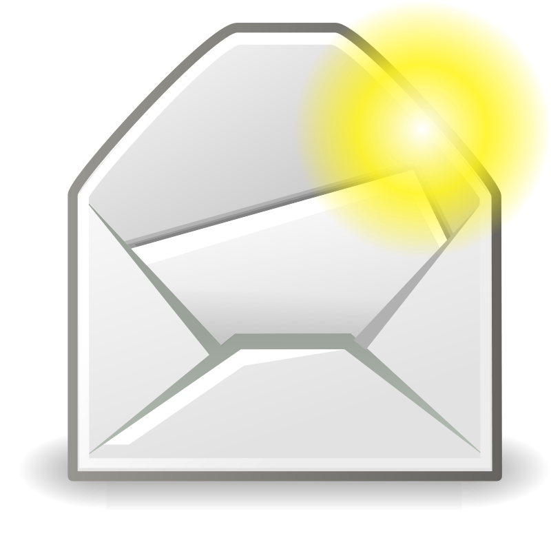 free vector Tango mail message new