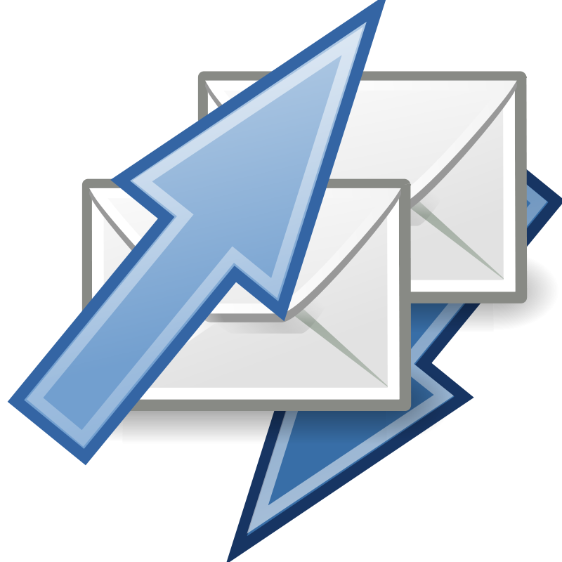 free vector Tango mail send receive