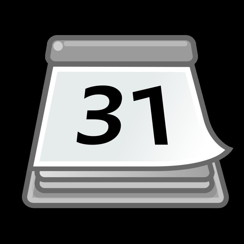 tango office calendar free vector 4vector rh 4vector com vector calendar 2018 vector calendar 2017 free download