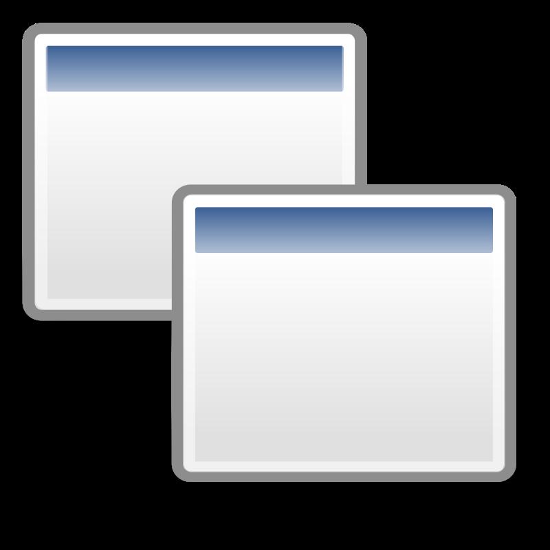 free vector Tango preferences system windows
