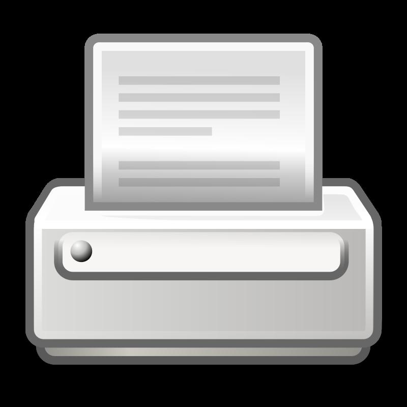 free vector Tango printer