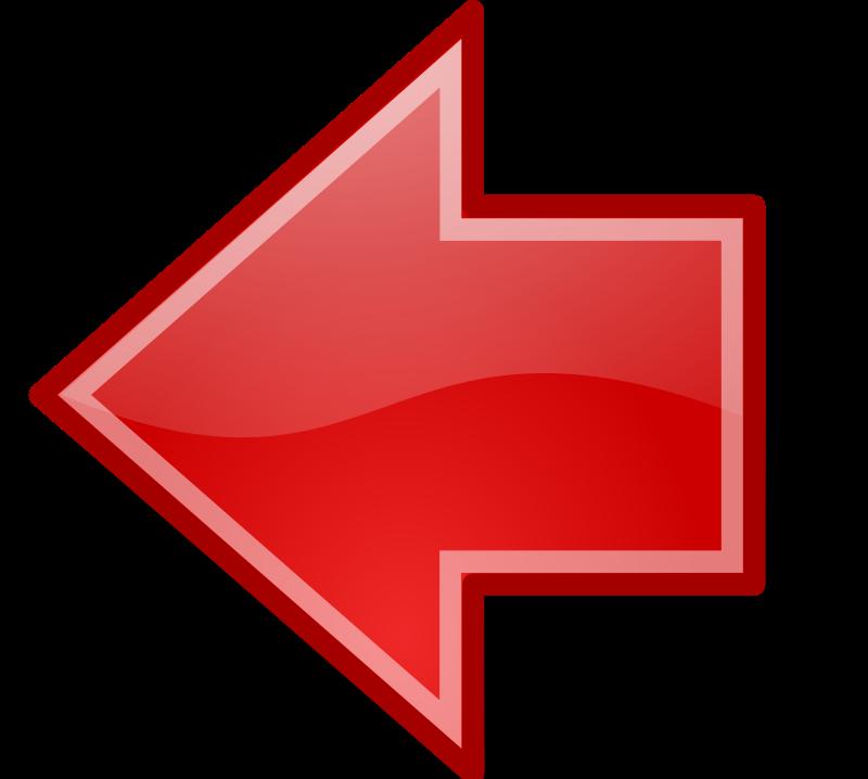Tango red go previous Free Vector / 4Vector