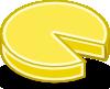 free vector Tango Style Cheese Wheel clip art