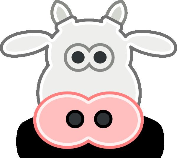 Tango Style Cow Head clip art Free Vector / 4Vector