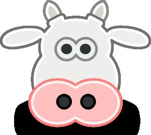 Tango Style Cow Head Clip Art Free Vector 4vector