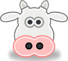 free vector Tango Style Cow Head clip art