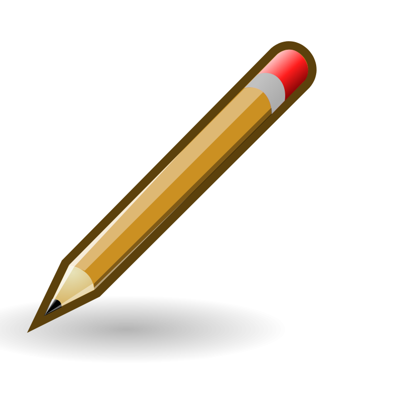 free vector Tango style pencil