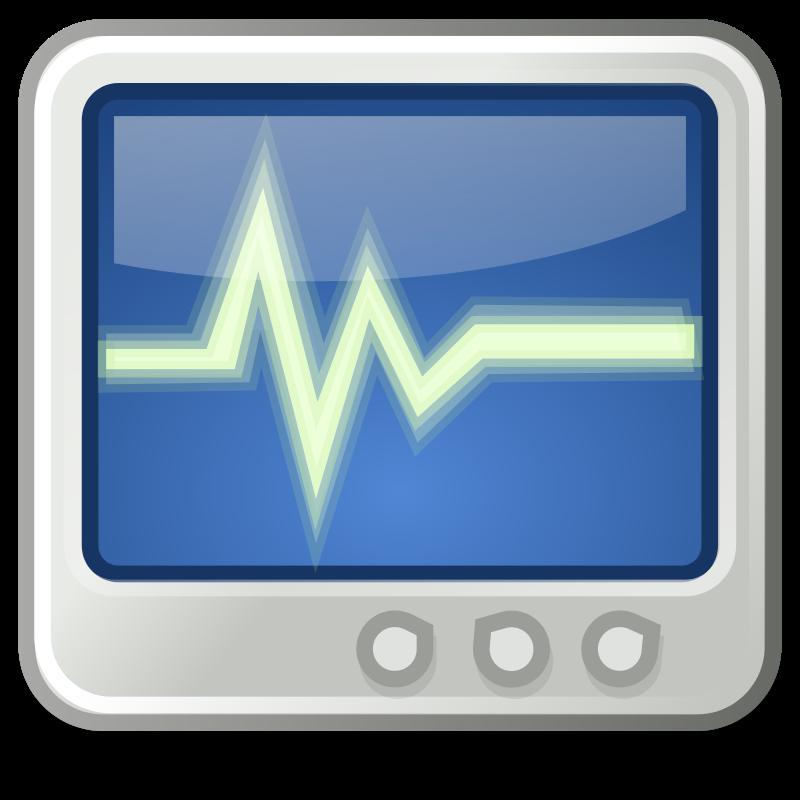free vector Tango utilities system monitor
