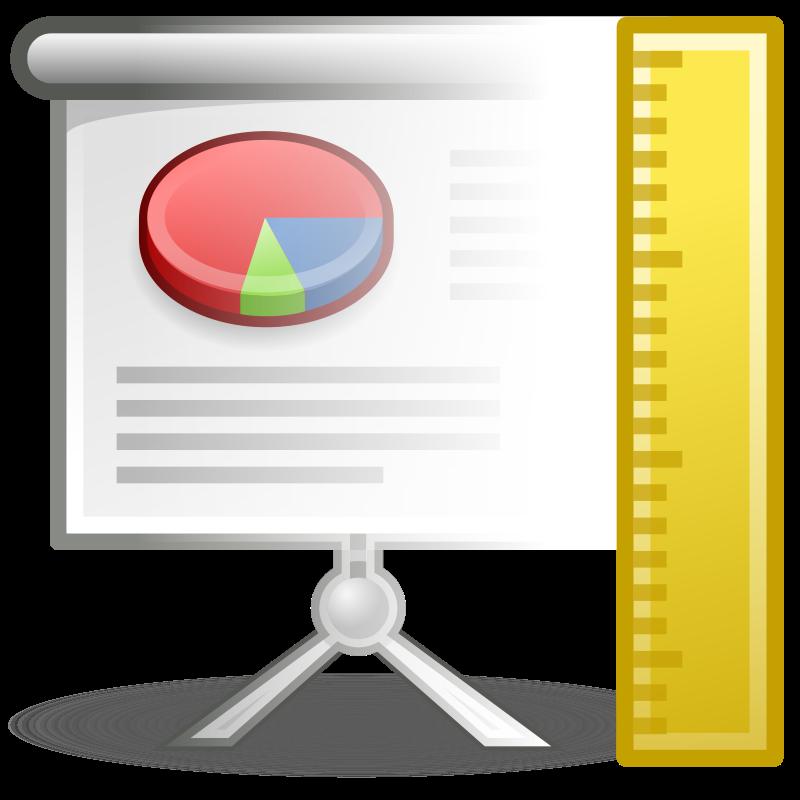 free vector Tango x office presentation template