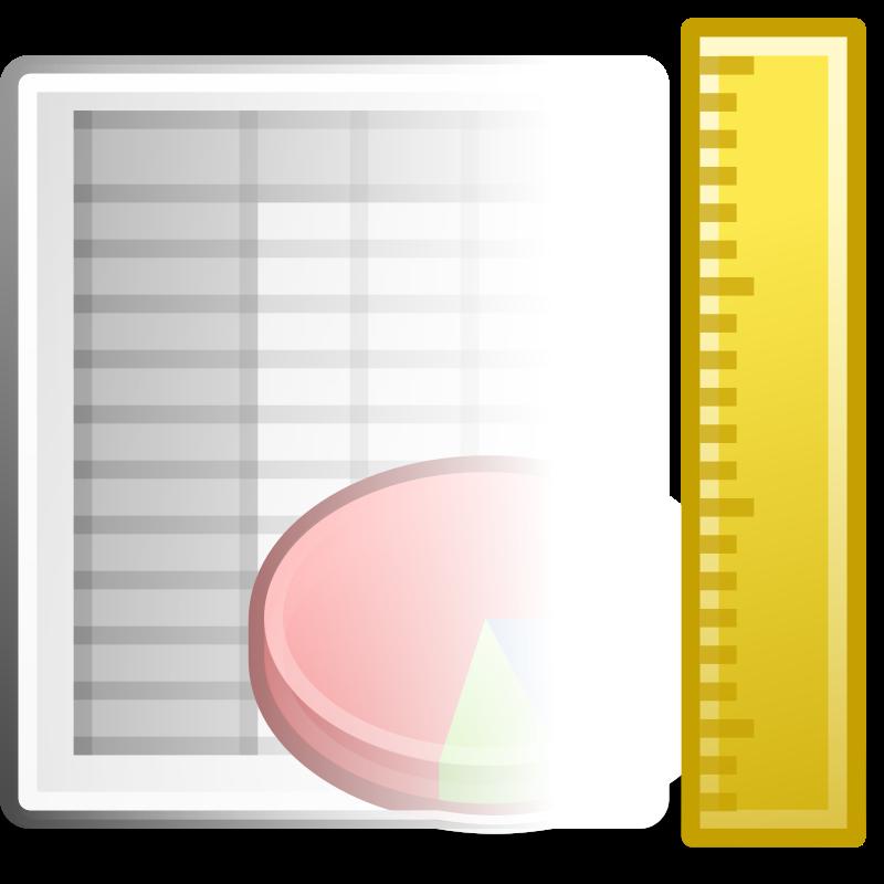 free vector Tango x office spreadsheet template