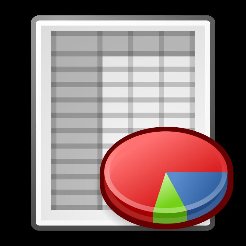 free vector Tango x office spreadsheet
