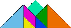 free vector Tangram-18 clip art