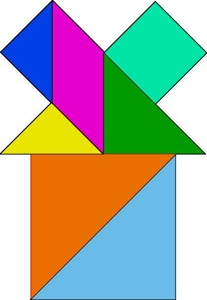 free vector Tangram-20 clip art