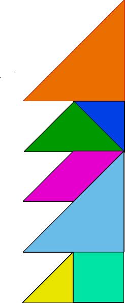 free vector Tangram-21 clip art