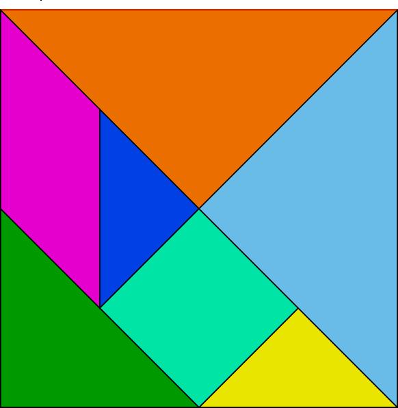 free vector Tangram-24 clip art