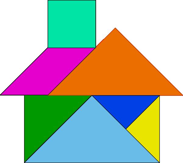 free vector Tangram-26 clip art