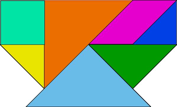 free vector Tangram-30 clip art