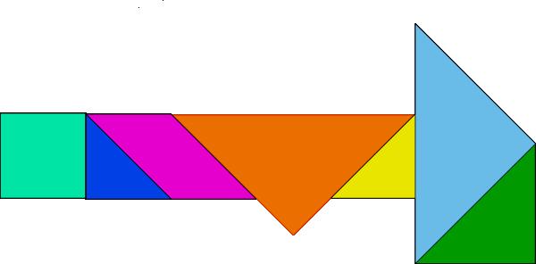free vector Tangram-33 clip art