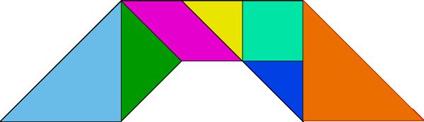 free vector Tangram-36 clip art