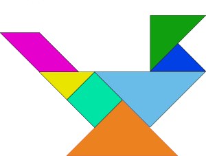 free vector Tangram Blocks Game clip art