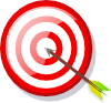 free vector Target With Arrow clip art