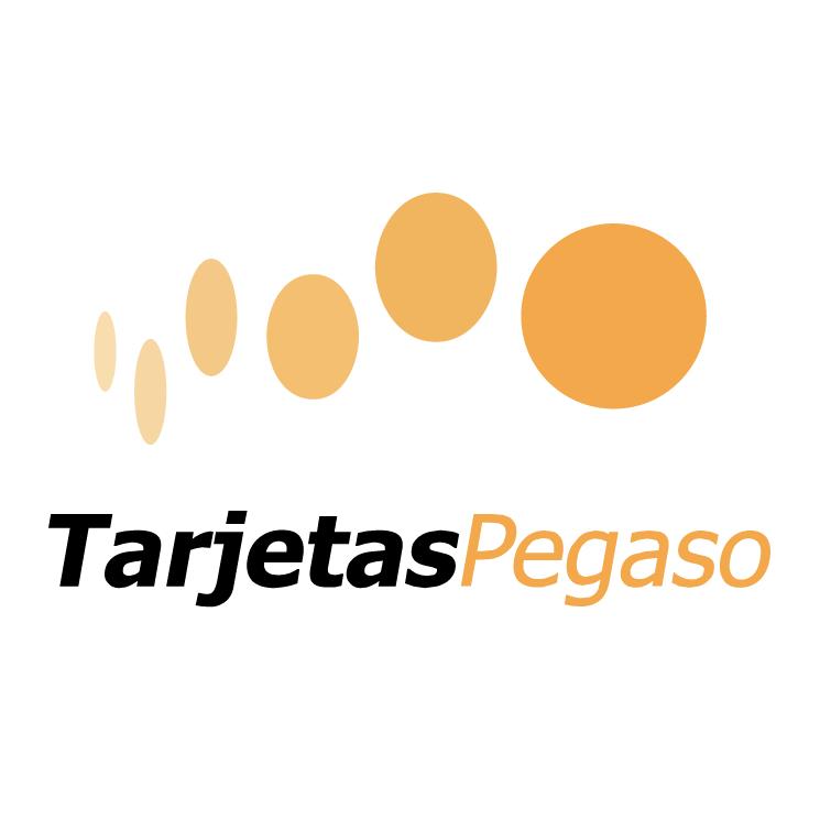 free vector Tarjetas pegaso