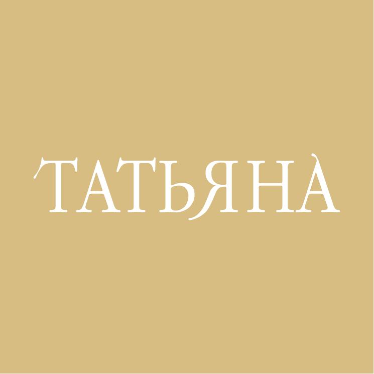 free vector Tatyana