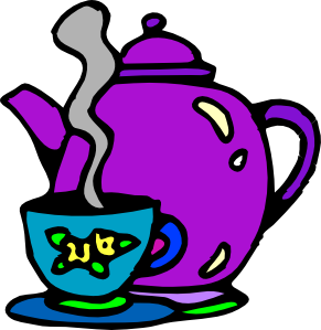 free vector Tea Kettle And Cup clip art