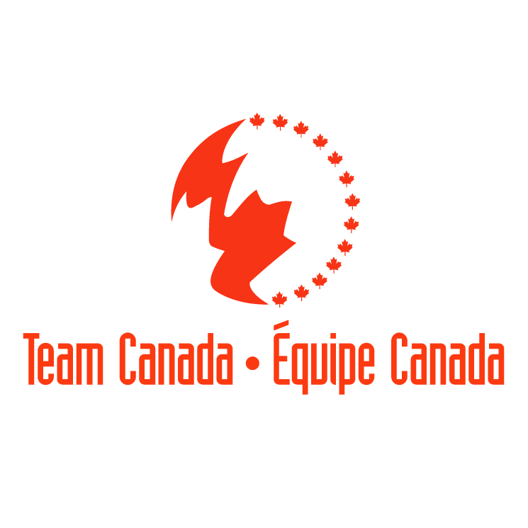 free vector Team canada