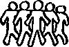 free vector Team Sketch clip art